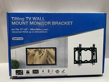 "Tilting TV Wall Mount Monitor Bracket 17""-42"" 88 lbs. NIB"