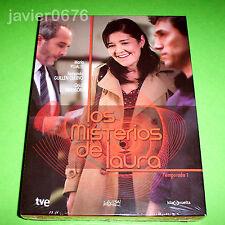 LOS MISTERIOS DE LAURA PRIMERA TEMPORADA EN DVD PACK NUEVO Y PRECINTADO