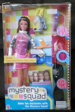 BARBIE Doll MYSTERY SQUAD Drew streaked hair dressed new in box /accessories