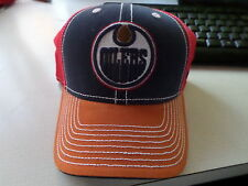 NHL EDMONTON OILERS REEBOK FITTED HAT SIZE S/M NEW WITHOUT TAGS!