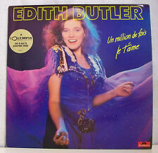 33 tours Edith BUTLER Disque LP UN MILLION DE FOIS JE T'AIME - POLYDOR 8252151