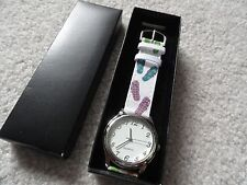 "New Avon Quartz Ladies Watch with a Colorful ""Sandles"" Band"