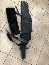48 Inch Leather Rifle Shotgun Scabbard Case Holster Hunting For Horse or Car