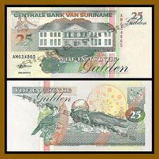Suriname 25 Gulden, 1998 P-138d Unc