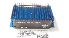 RM mod KL-35 AMP 25 to 35 Watt FM HF 10 meter CB linear amplifier burner boots