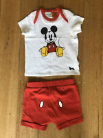 PYJAMAS - PETER ALEXANDER - MICKEY MOUSE - NEW WITHOUT TAG - SIZE 0/ 9/12 Mths