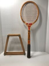 Vintage Bancroft Wooden Tennis Racquet Good Condition Includes Wood Frame Case