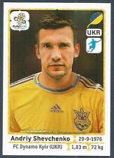 PANINI EURO 2012- #422-UKRAJINA-UKRAINE-DYNAMO KYIV-ANDRIY SHEVCHENKO