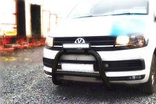 Black Nudge Bar To Fit 2015-2019 Volkswagen T6 Transporter,Caravelle, Multivan