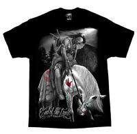 DGA DAVID GONZALES NATIVE AMERICAN INDIAN END OF THE TRAIL GANGSTER T SHIRT