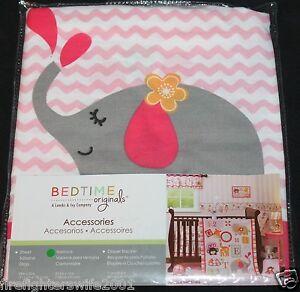 Bedtime Originals Jungle Sweeties Window Valance elephants 53.5x12 new