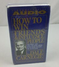 How to Win Friends and Influence People by Dale Carnegie AUDIO BOOK 8 Cassettes