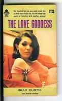 THE LOVE GODDESS by Brad Curtis, rare US Midwood sleaze gga pulp vintage pb