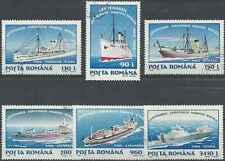 Timbres Bateaux Roumanie 4251/6 o lot 8427