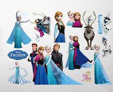 Disney Elsa y Anna de Frozen DORMITORIO INFANTIL Nursey Pegatina pared grande