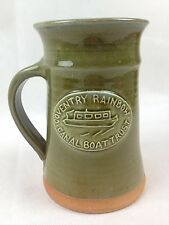 Coventry Rainbow Canal Boat Trust - Handled Studio Pottery Vase