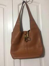 Vintage DELVAUX Bruxelles Brown Leather Women's Bag
