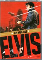 Elvis Presley DVD The King Live Brand New Sealed