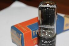 25W4 Tung-Sol Vintage Tube With Black Plates - Nos In Box