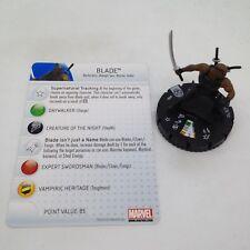 Heroclix Amazing Spider-Man set Blade #004 Common figure w/card!