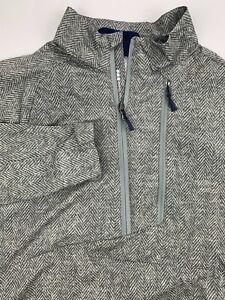 Ralph Lauren RLX Golf Performance Pullover Jacket 1/4 Zip Bi-Swing Stretch Sz M