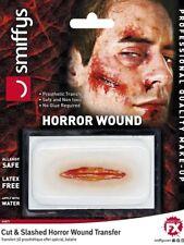 Halloween Cut & Slash horror herida transferencia Smiffys Calidad Profesional Maquillaje
