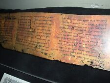 Ten Commandments Dead Sea Scroll 4Q41 Tetragrammaton  Watchtower Research YHWH
