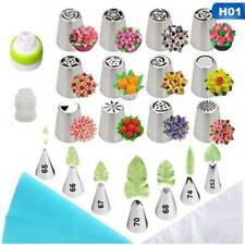 32pc/set Pastry Nozzles For Cream Confectionery Nozzle Tulip Leafs Russian Tip