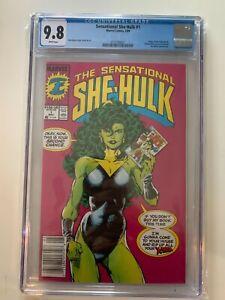 Sensational She-Hulk #1 (1989) Key 1st Issue Newsstand CGC 9.8 KEY ISSUE