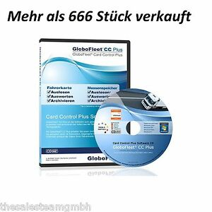 GloboFleet Card Control Plus Software für Fahrerkarte und digitalen Tachograph