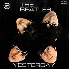 "BEATLES - ""YESTERDAY"" EP - JAPAN - 7"" 33RPM - RARE MISPRINT - SEE DETAILS!!"