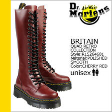 Dr. Martens Women`s Britain 20 eye Aggy Style Red Tall Boot US 6 EU 37 UK 4 LAST
