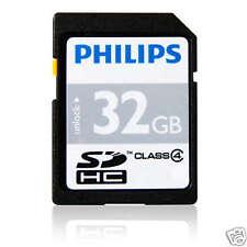 Philips 32 GB SDHC Karte Class 4 SDHC Speicherkarte FM32SD35B