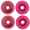 SANTA CRUZ Old School Re-Issue Skateboard Wheels 60mm SLIME BALLS VOMITS PINK
