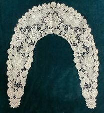 ANTIQUE  LACE AND AYRSHIRE WHITE WORK COLLAR