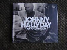 CD Johnny Hallyday Mon Pays C'est l'Amour édition collector sous blister....