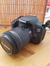 Canon EOS 700d con Canon EFS 18-55 obiettivo