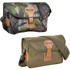 JACK PYKE CARTRIDGE BAG CORDURA 150 GREEN OR BROWN HUNTING SHOOTING