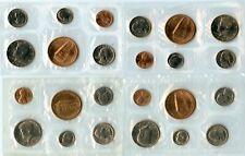 Lot of (4) Genuine 1973, 1977, 1990, & 1992 US 5 Coin Souvenir Mint Sets
