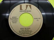 """Gerry Rafferty city to city - 45 Record Vinyl Album 7"""""""