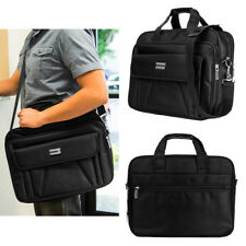 "15.6"" Men's Durable Nylon Briefcase BusinessCases Shoulder Messenger Laptop Bags"