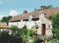 Jingleby Farm Tearoom,Dalby Forest- Photocross Cross Stitch Charts (CSC/17/0005)