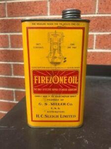 Golden Fleece FIREZONE OIL Imperial Pint TIN