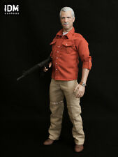 Uncharted 2 Sully Victor Sullivan 1/6 Scale Custom Figure by IDM Customs