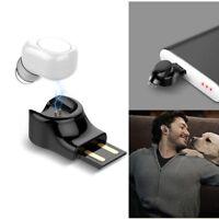 Wireless Bluetooth Earbud Headset TWS In-Ear Mini Sport Earphone for iPhone 8 EN