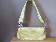 The SAK Yellow Pixie Basket Weave Purse w/Woven Handle~Brand New w/Tags!!