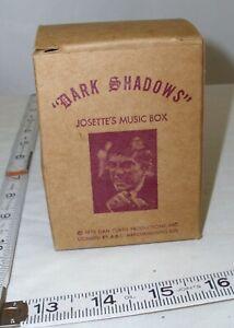 DARK SHADOWS JOSETTE'S MUSIC BOX ORIGINAL BOX ONLY SHARP! 1979