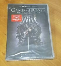 Game of Thrones: The Complete First Season (DVD) 1 HBO drama tv show series NEW