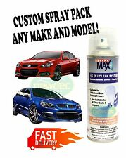 FORD AUTO 2K TOUCH UP SPRAY PAINT FALCON TERRITORY AU BA BF FG SX SY SZ XR8 XR6