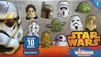 Disney Wikkeez Star Wars Figures Figure Toy Toys 10 Pack Yoda Hans Solo R2D2